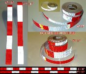 DOT C2 C3 C4 Reflective Truck Conspicuity Tape (30' Rolls)